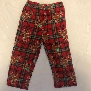Toddler Rudolph Holiday Fleece Pajama Pants
